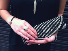 Look of the Week with Jewellery and Clutch bag