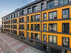 34 Architects tarafından tasarlanan Aca Suite, İstanbul Kağıthane İlçesi'nde mevcut yapı stoğunun yenilenmesi çerçevesinde değerlendirilen bir bölgede konumlanıyor.
