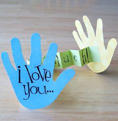I love you hands (grandparents week)