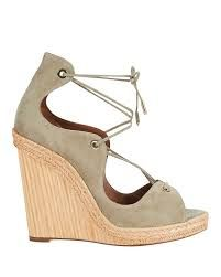 Love the natural look of these wedges