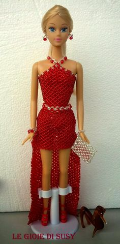 Barbie rise and fall dress