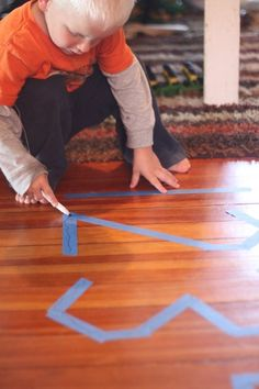 Tracing Numbers on Tape - it wipes right off!