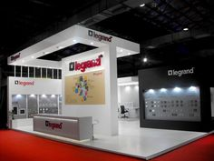 Stall for Legrand at Acetech, Mumbai