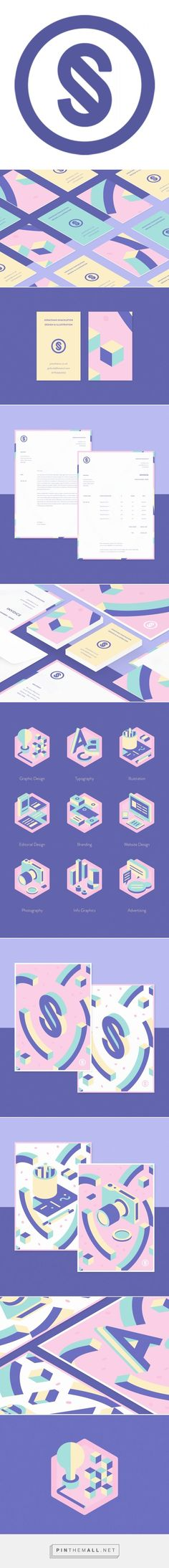 Personal identity and self promotion by Jonathan Shackleton. - a grouped images picture - Pin Them All Personal Identity, Visual Identity, Brand Identity, Corporate Identity, Corporate Design, Self Branding, Logo Branding, Design Logo, Branding Design