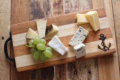 Reclaimed Wood Chopping / Cheese Board by HomewardCreative on Etsy