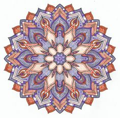 This is Flower Power colored by Lois S. One of 100+ printable mandalas you can color too! https://mondaymandala.com/m/flower-power?utm_campaign=sendible-pinterest&utm_medium=social&utm_source=pinterest&utm_content=flower-power&utm_term=fancolor