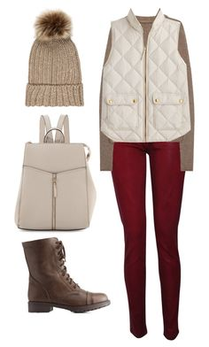 """""""Untitled #271"""" by irinabukhinnyk on Polyvore featuring Accessorize, Hudson, Rick Owens, J.Crew, Neiman Marcus and Charlotte Russe"""