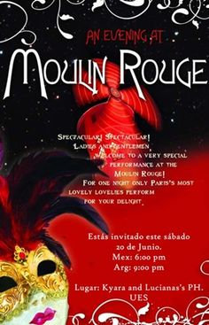 moulan rouge theme parties | Moulin Rouge Theme Party