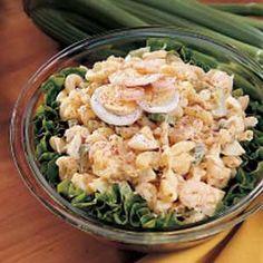 Seafood Macaroni Salad Recipe