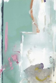 Painting by Helen Frankenthaler, 'Haiku'