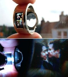 Projector Engagement Ring.... WHAT