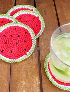 Not 2 late to craft: Posagots de ganxet i sorteig per les 10.000 visites / Crochet coasters and 10.000 visits giveaway - tutorial