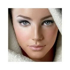 Soft grey eyeshadow, not sure how this would look with my skin coloring Bunny Makeup, Love Makeup, Makeup Tips, Makeup Looks, Hair Makeup, Gorgeous Makeup, Pretty Makeup, Snow Makeup, Makeup Ideas
