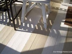 Porch decorating ideas. How to pain a porch wooden floor.