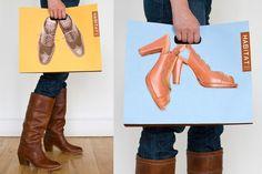 Habitat Shoe Boutique Branding by Interwoven Creative, via Behance