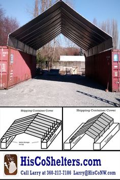 Portable Carport - Portable Carport In Ms Building A Container Home, Container Buildings, Container Architecture, Shipping Container Sheds, Shipping Containers, Fabric Buildings, Portable Carport, Portable Shelter, Horse Shelter