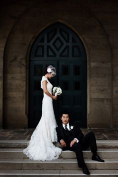 beautiful wedding portrait by Erwin Darmali of Apertura   junebugweddings.com