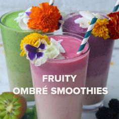 Ombré Smoothies