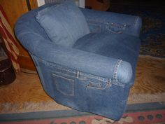 Upcycle Jean Chair for sale