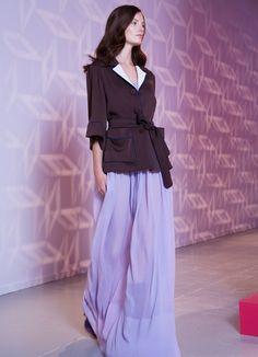 Long dress color glicine by Louis Vuitton (collezione Resort 2013)
