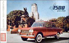 Fiat 1500 publicidad argentina