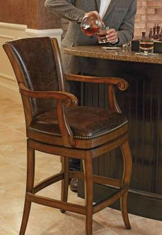 Our Barrington Barstool offers the quality of finely crafted furniture at an exceptional price.