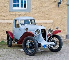 1927 Amilcar CGS-2 Coupe Cyclecar....cute...