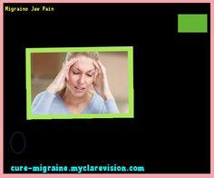 Migraine Jaw Pain 203201 - Cure Migraine