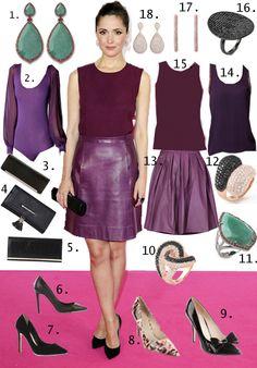 Fashion Blog   Get The Look: Rose Byrne. http://thefashioncatalyst.com/site/2013/01/fashion-blog-get-the-look-rose-byrne/