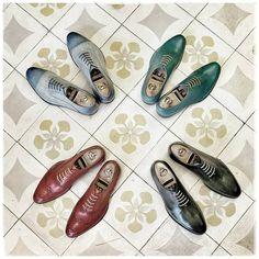 Colour block for gentlemen  Visit for more detail: http://dominiquesaintpaul.com/blog/