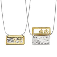 Look what I found at UncommonGoods: I'll Be There Necklace for $95 #uncommongoods