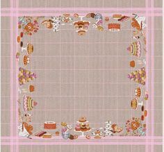Follow the progress of cross stitching this amazing tablecloth.  Exclusive from France.  All inclusive kit available at www.cross-stitch-diva.com.
