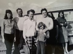 Reba, Edward, Estelle,  Irene,  Helen,  Faye,  & Venie George 1962/3