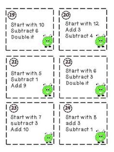 Number Sense Fluency Games (Grades 3-5)