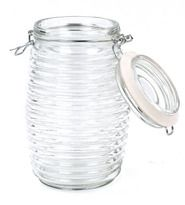 Beehive canisters. I bought one for a project we are doing for activity day. The girls just love it! And inexpensive!