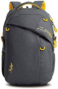 Skybags Ion 02 Grey Laptop Backpack