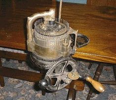 English Sock Machine via Museum Sock Knitting Machine Information, Sales, Patterns and Museum