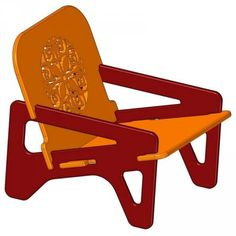 Here you can download a plan for making a knock down chair.