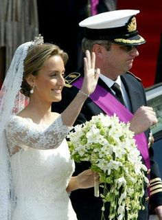 Mariage of Prins Laurent and Clair