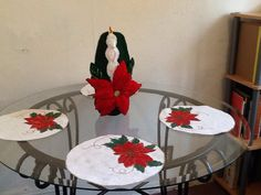 Decoraciones de Navidad para la mesa