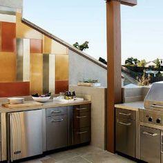 Explore our tech-savvy home | Cooking al fresco | Sunset.com