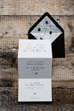 Wildflower Collection – BESPOKE STATIONERY AND ILLUSTRATION  The Wildflower Collection is inspired by the delicateness of flowers and the natural beauty of nature. This design combines an elegant classic font with delicate hand-drawn florals. The concertina layout includes a custom map and RSVP tear-off postcard.  #wildflowerwedding #concertinaweddinginvitation #weddinginvitation #weddingstationery Wedding Stationery, Wedding Invitations, Invites, Classic Fonts, Advice For Bride, Save The Date Designs, Engagement Cards, Star Wedding, Botanical Wedding