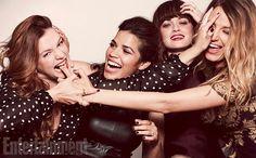 Sisterhood of the Traveling Pants   Amber Tamblyn (Tibby), America Ferrera (Carmen), Alexis Bledel (Lena) and Blake Lively (Bridget)