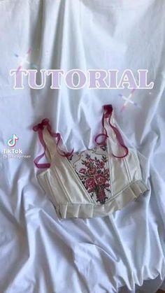 Sewing Basics, Sewing Hacks, Sewing Tutorials, Fashion Sewing, Diy Fashion, Ideias Fashion, Corset Sewing Pattern, Dress Sewing Patterns, Techniques Couture
