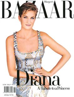 Bazaar November 1997 - Diana of Wales