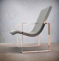 BONNIE armchair | white&gold | VENTURY