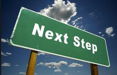 A sign called next step lol