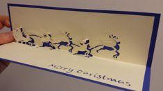 Voici un magnifique modèle offert gratuitement par Zelphire, un très beau traineau de noel tiré par des rennes en kirigami!! et oui exclusif!! voyez un peu... Pour le réaliser, je vous donne rendez vous ici Bonne création à tous!! Chrismas Cards, Xmas Cards, Christmas Pops, Christmas Themes, 3d Paper, Paper Crafts, Diy Crafts, 3d Cards, Pop Up Cards