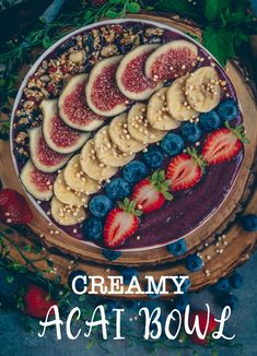 Creamy Açaí Bowl