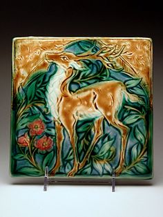 Mary Philpott Tile at MudFire Gallery